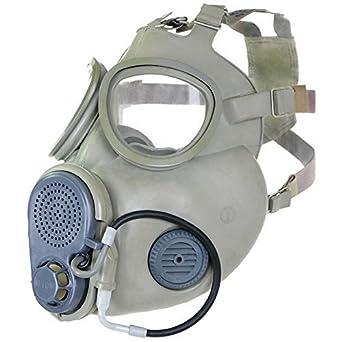 Gas Máscara NVA F. offiziere Protección Máscara M 10 Campana Halloween goma Artículo ABC