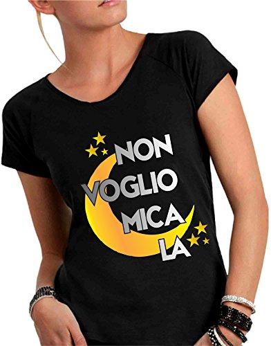 Social Crazy - Camiseta - para mujer negro
