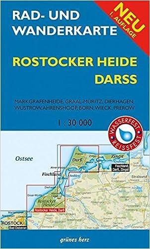 Rad Und Wanderkarte Rostocker Heide Darss Markgrafenheide Graal