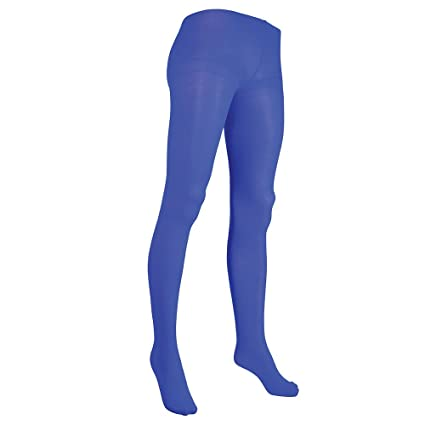 319cdf6d3 Image Unavailable. Image not available for. Color  Bristol Novelty BA2806 Tights  Ladies Blue ...