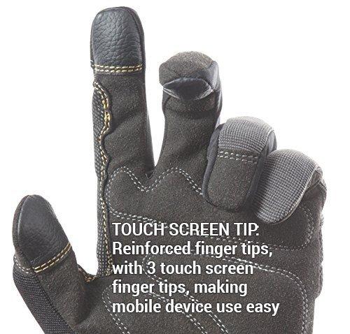CLC 125L Handyman Flex Grip Work Gloves, Shrink Resistant, Improved Dexterity, Tough, Stretchable, Excellent Grip, 3 Pack 5