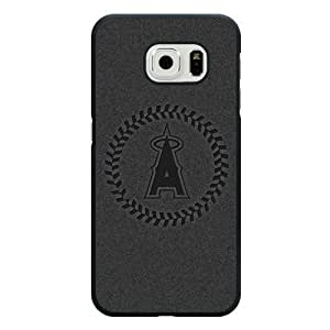 ArtPopTart Galaxy S6 Edge Case,Fashion MLB Los Angeles Angels of Anaheim Samsung Galaxy S6 Edge Case ,Black Hard Plastic,Coolest 2015 Cell Phone Case