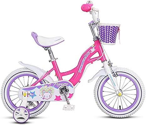 GAIQIN Durable Bicicleta para niños Bicicleta 5-6-7-9-11 Freno de ...