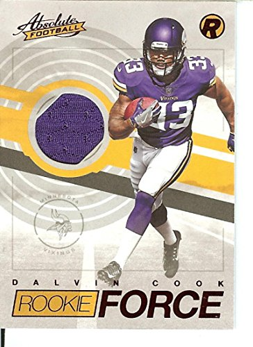 Football NFL 2017 Absolute Rookie Force Red #26 Dalvin Cook Vikings by