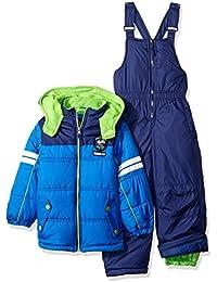 Boys' Active Colorblock Snowsuit