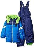Kyпить iXtreme Little Boys' Active Colorblock Snowsuit, Blue, 5 на Amazon.com