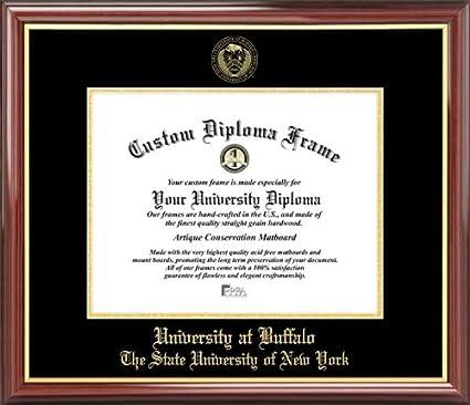 Amazon.com : University at Buffalo, SUNY Bulls - Embossed Seal ...
