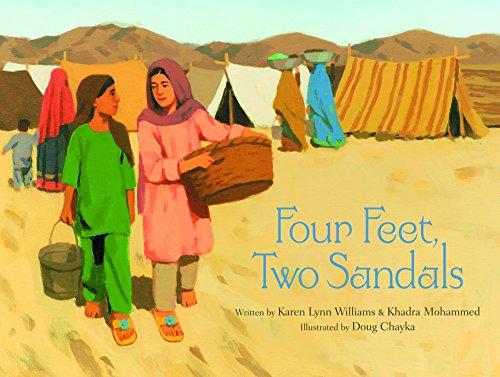 Books : Four Feet, Two Sandals