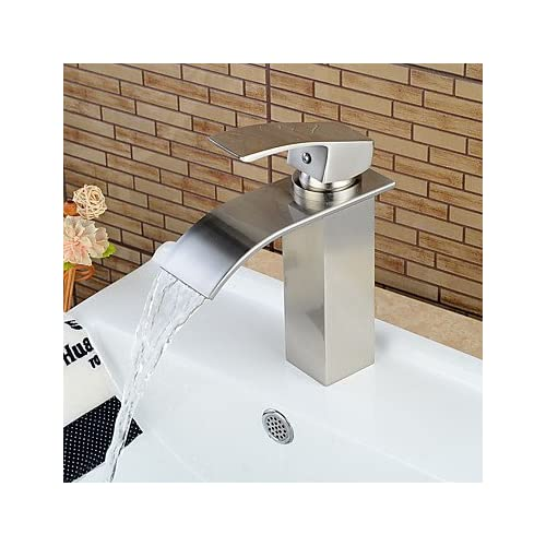 high-quality W&P Today's nickel brushed faucet ceramic mixing valve hole