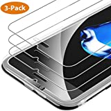 Syncwire iPhone 8, 7, 6s, 6 Screen Protector, 3 Packs 9H Hardness HD 2.5D Tempered Glass with Installation Frame for Apple iPhone 8/7/6s/6 [Shatter-Proof, Bubble-Free, 3D-Touch, Easy-Install]
