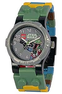 Clic Time CT00337 - Reloj de pulsera infantil con diseño de Boba Fett de LEGO Star Wars