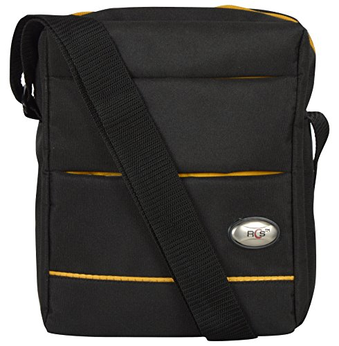 RCS Youth Sling Bag Pouch (Black and Yellow)