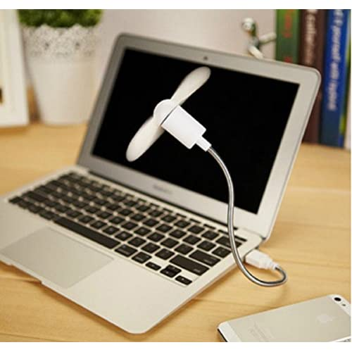 Fosa Low Power Flexible Mini USB Cooling Fan for Notebook Laptop Computer