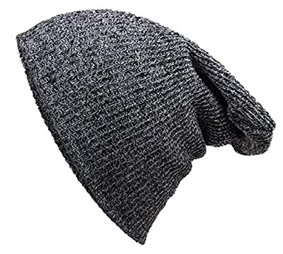 ARRIVE GUIDE Unisex Winter Knitted Ski Hat Crochet Slouchy Skully Beanie