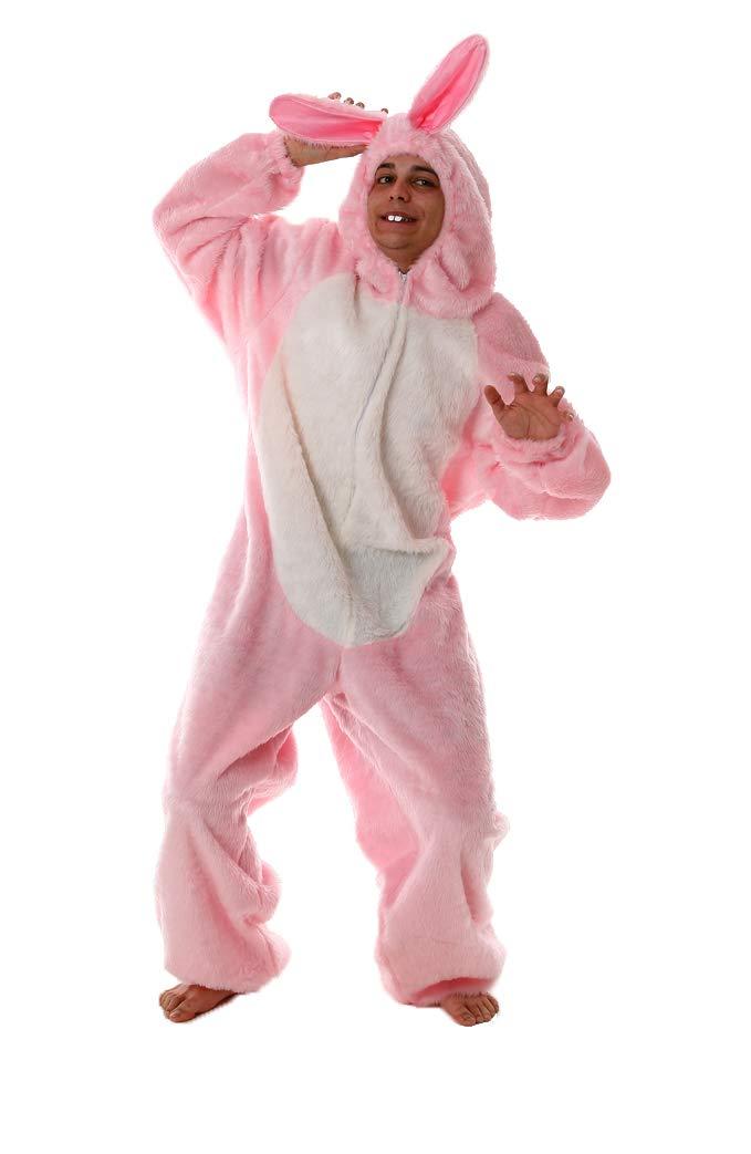 Marco Porta Faschingskostüme Ltd. & Co. KG Rosa Hasenkostüm Bunny Verkleidung Hasen Verkleidung Bunny Kostüm 025397