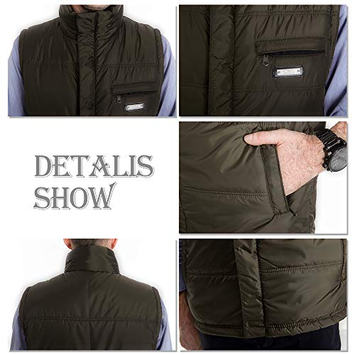Outdoor Durable 02 Vest Warm Thicken Waistcoats Style Jacket Men for Down Waterproof Men's Down Outwear Winter YIHIGH qa0tq