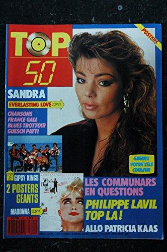 TOP 50 091 N°91 SANDRA GIPSY KING MADONNA COMMUNARDS PHILIPPE LAVIL KAAS