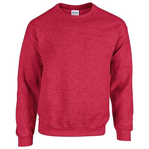 Gildan. Heather Sport Scarlet Red. S. 18000. 00191675043109