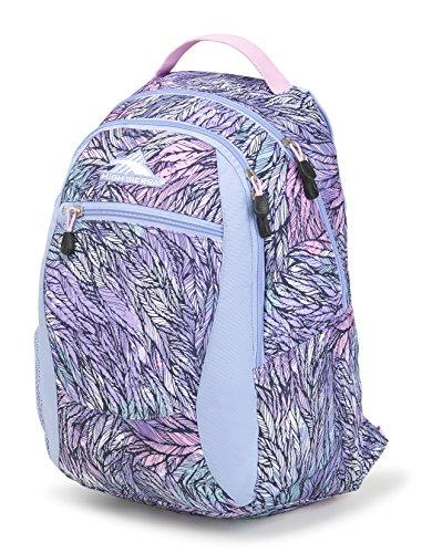 High Sierra Headphone - High Sierra Curve Backpack, Feather Spectre/Powder Blue/Iced Lilac
