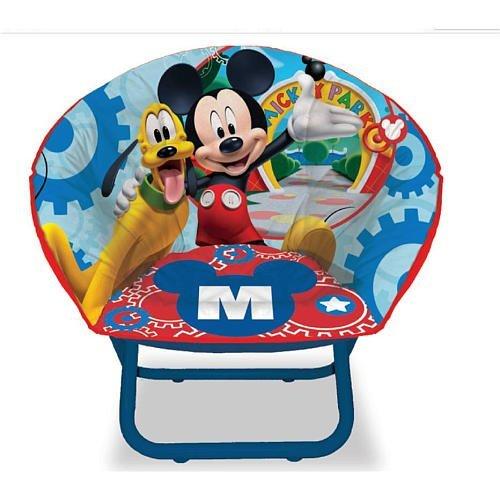 Idea Nuova 23 inch Mini Saucer Chair - Disney Mickey Mouse