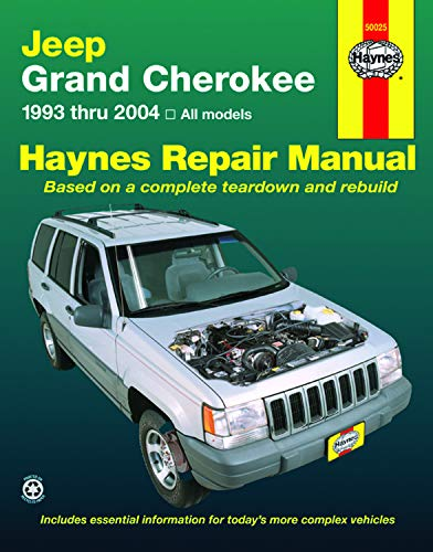 Jeep Grand Cherokee 1993-2004 (Haynes Repair Manual)