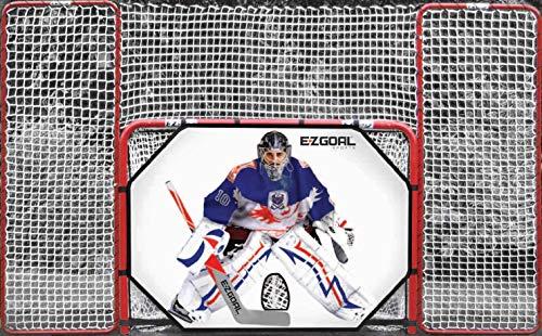 (EZGoal 4' x 6' Hockey Folding Steel 2