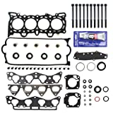 #3: NEW HS1400HBSI MLS Head Gasket Set, Head Bolt Kit, & RTV Gasket Silicone for Honda Civic Del Sol 1.6L SOHC VTEC D16Y D16Y5 D16Y7 D16Y8