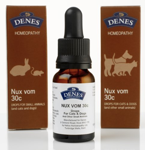 Nux Vomica (Denes Homeopathy Nux Vomica Remedy 30c/15ml)