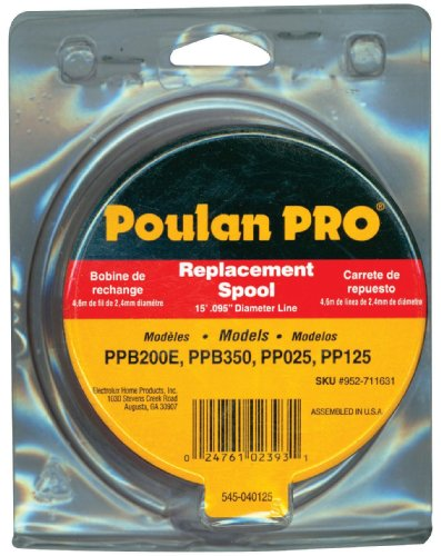 Poulan Pro String Trimmer Spool for PP125 .095-Inch #9527116