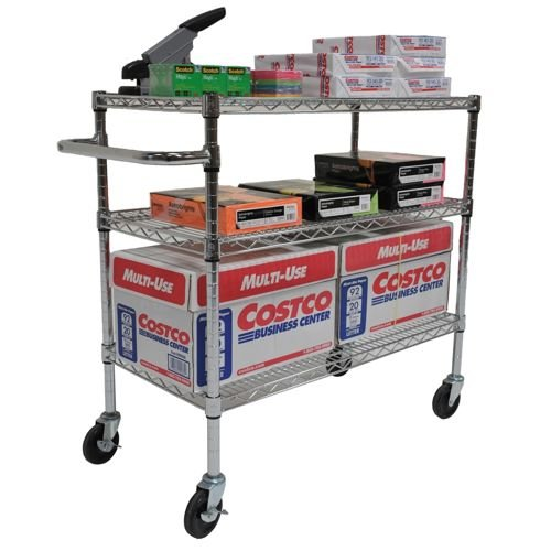 "TRINITY EcoStorage 3?Tier Cart | 40.5"" x 18"" x 36"" 