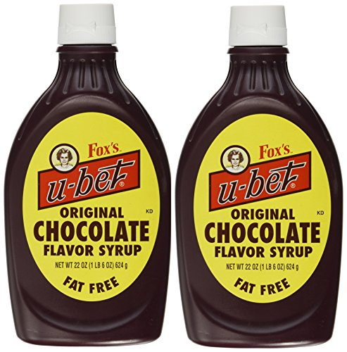 Chocolate Flavor Syrup, 22 Ounces, (Pack of 2) (Original Syrup)