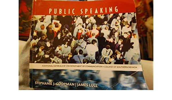 Public Speaking College of Southern Nevada CSN