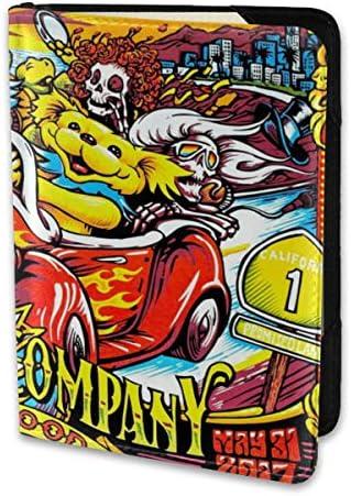 Dead&Company デッド&カンパニー パスポートケース メンズ レディース パスポートカバー パスポートバッグ 携帯便利 シンプル ポーチ 5.5インチ PUレザー スキミング防止 安全な海外旅行用 小型 軽便