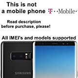 T-Mobile USA Unlocking Service for Samsung Galaxy S8, S8+, S7, S7 Edge, Note 4, 7, 8, Tab 4 and Other Models Which Ask For an Unlock Code - Make Your Device More Useful Than Before