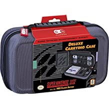 NINTENDO SNES CLASSIC AND NES CLASSIC DELUXE TRAVEL CASE - HARD CASE WITH BALLISTIC NYLON EXTERIOR, HOLDS NINTENDO SNES OR NES CLASSIC SYSTEMS, AC ADAPTER, POWER CORD, BOTH CONTROLLERS AND HDMI CABLE