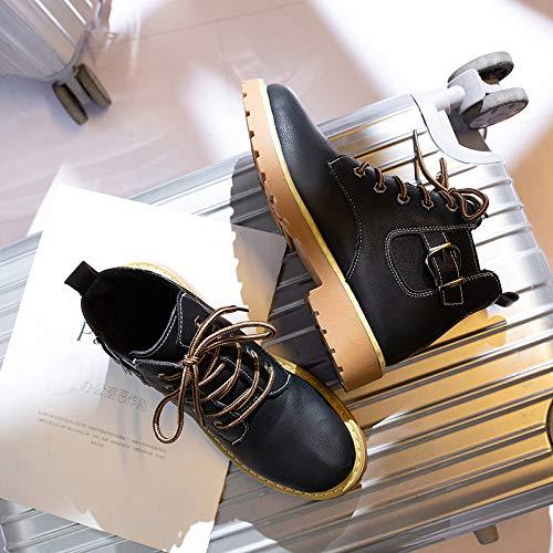 Nero Nero Stivali 37 Dimensione Colore EU ZHRUI fnx81wHqx