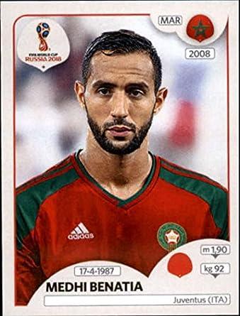 d47aa8dfe93 Amazon.com  2018 Panini World Cup Stickers Russia  155 Medhi Benatia ...