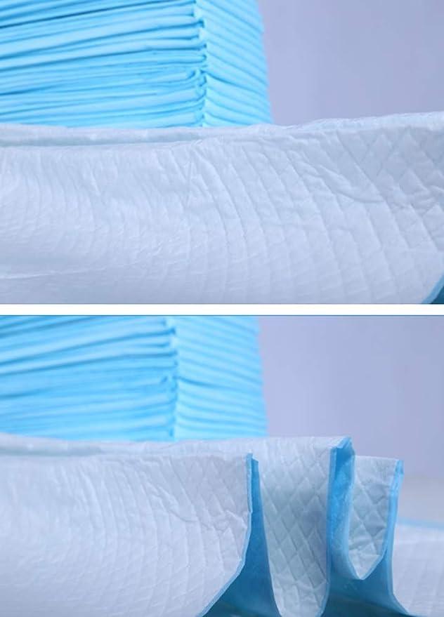 Cojín Lavable Reutilizable Un Cojín Cambiante del Pañal Absorbente del Cojín para el Cojín de la incontinencia del Bebé de Elder (80 * 90cm) 40 hoja: ...