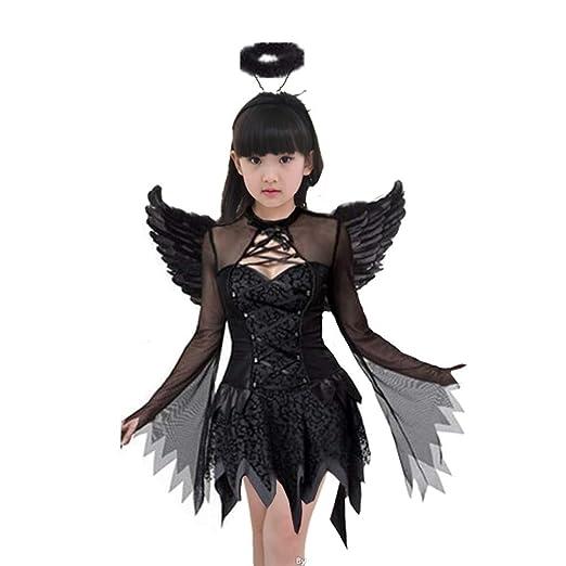 LEZDPP Horror de Halloween Traje Adulto Bruja del niño del Demonio ...