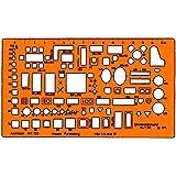Standardgraph ST7342 - Plantilla de arquitecto (escala 1:100), diseño de mobiliario