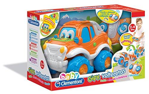 Baby Clementoni Coche teledirigido y Volteretas (550715)