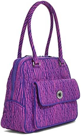 Vera Bradley Turn Lock Satchel Bag