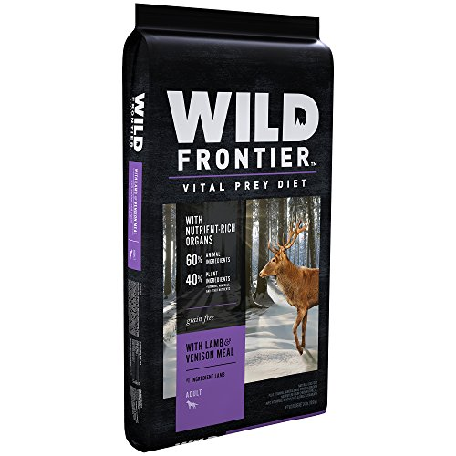 Wild Frontier Vital Prey Adult Dry Dog Food With Lamb & Venison Meal, 24 Pound Bag ()