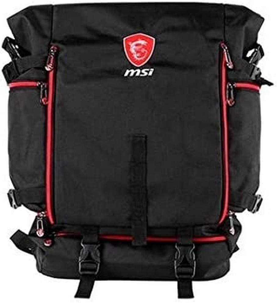 MSI Mochila PORTATIL 17 HERMERS BATTLEPACK S Solo para Venta EN Bundle con LOS Modelos GT/GS/GE G34-N1XX00I-SI9