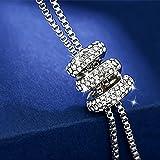 Zealmer Women Long Imitation Pearl Swirl Pendant