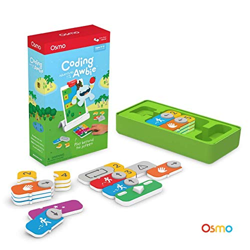 Osmo - Coding Awbie Game - Ages 5-12 - Coding & Problem Solving - For iPad and Fire Tablet (Osmo Base Required) (Best Games Console For 7 Year Old 2019)