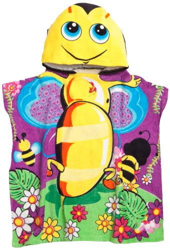 Northpoint Buzzing Bumble Bee Kids Hooded Beach - Northpoint Kids