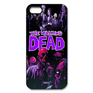Customized iPhone Case The Walking Dead Comic Printed Durable Hard iPhone 5 5S Case Cover