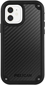 Pelican - Shield Series - Kevlar Case for iPhone 12 Mini (5G) - 21 ft Drop Protection - 5.4 Inch - Black