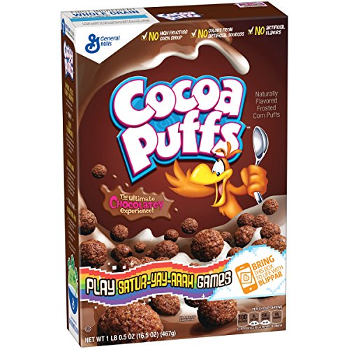 General Mills Cocoa Puffs Cereal, 16.5 ()